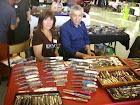 Avec Kadir ( Teymen) , Le créateur du couteau le Monnerie .
