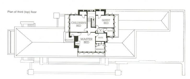 Mi moleskine arquitect nico casa robie frank l wright for Copying house plans