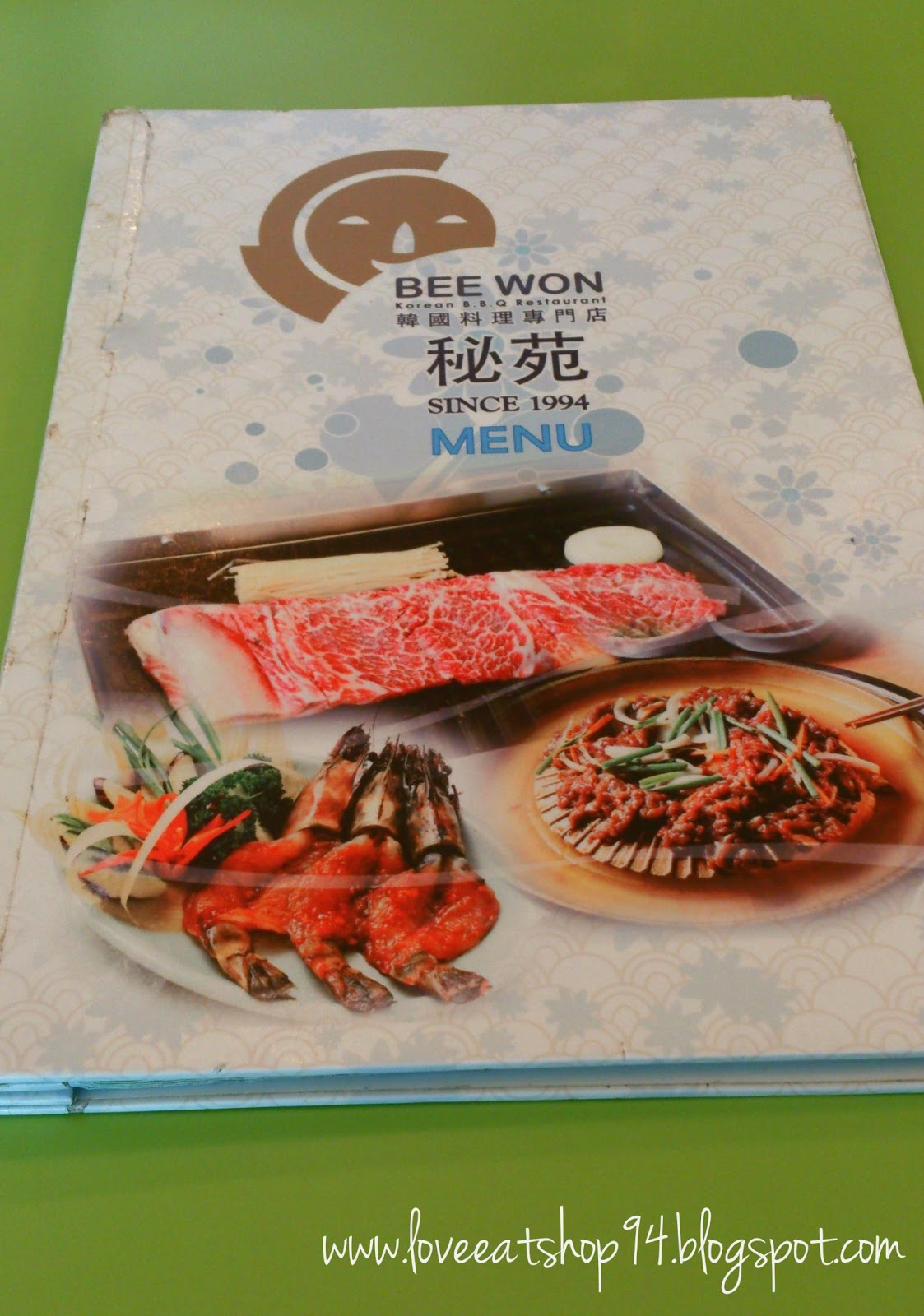 Bee Won Korean Bbq Restaurant Festival City Love Eat Shop 94