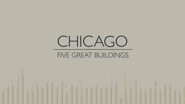 Doctor Ojiplatico. Al Boardman. Chicago - Five Great Buildings
