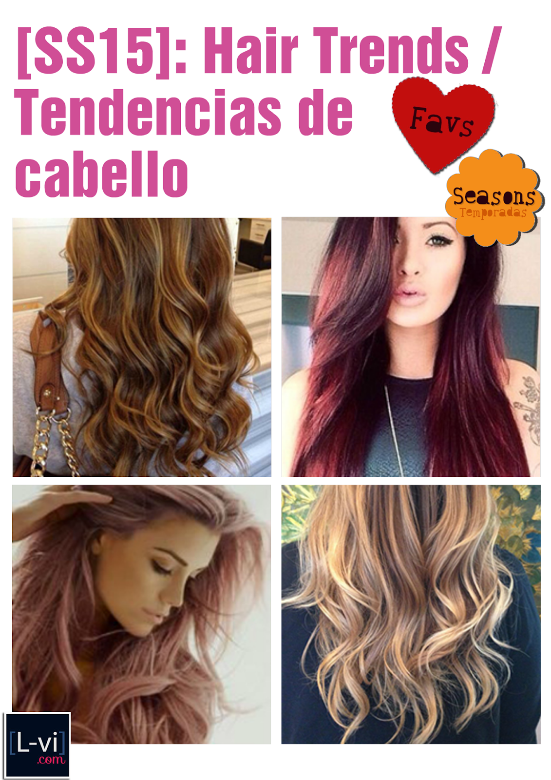 [SS15] Hair trends / Tendencias de cabello para ellas  L-vi.com