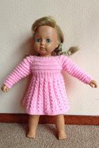 Bizzy Hands Pink Doll' Dress