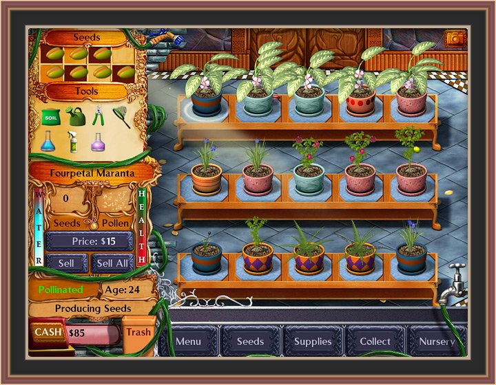 Plant Tycoon Game Screen Shots