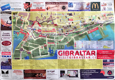 Gibraltar and Gibraltar Nature Reserve, Upper Rock Brochuress and Maps