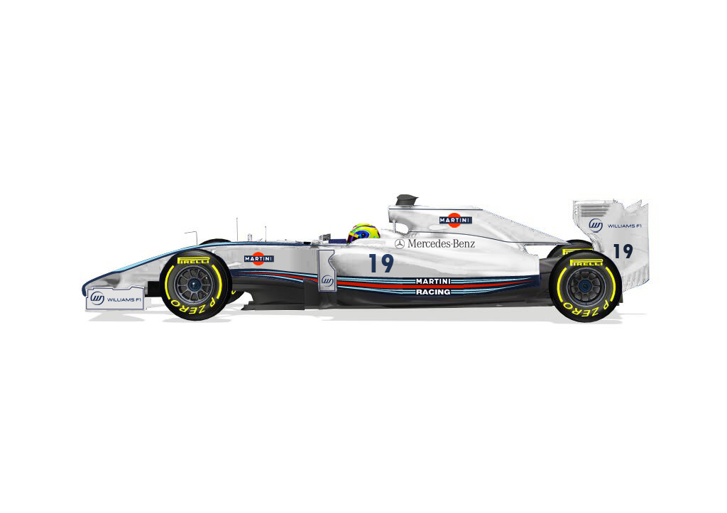 INSCRIPCIONES TEMPORADA 2014 Williams+lateral