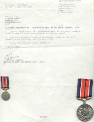 SAAF service medal