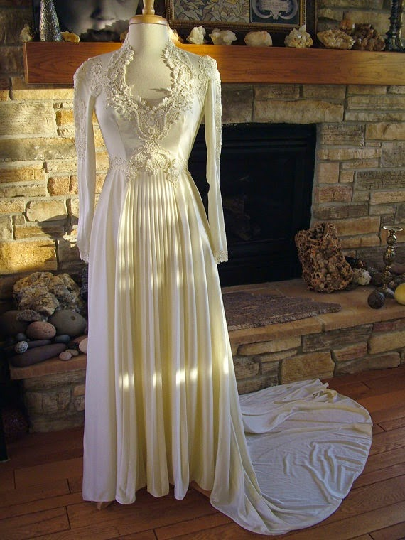 unique vintage short wedding dresses