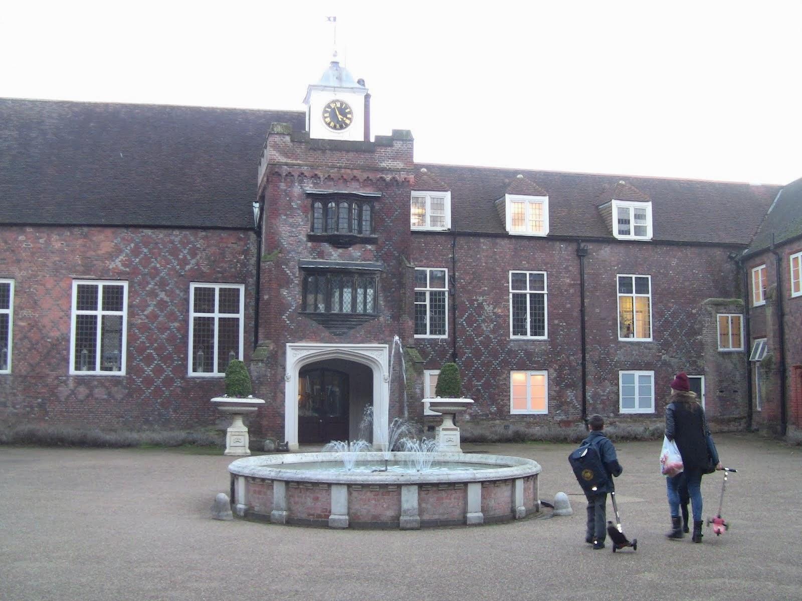 la cour intérieure de Fulham Palace