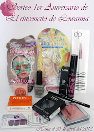 ***************Sorteo 1er Aniversario de El rinconcito de Lowanna
