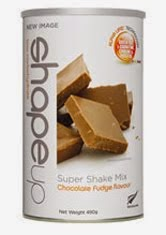 SHAPE UP CHOCOLATE FUDGE