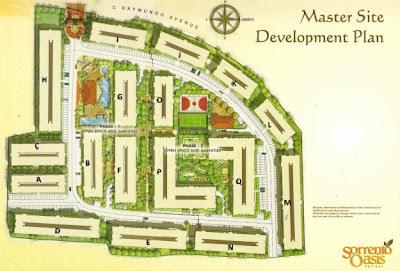 Sorrento Oasis Pasig Site Development Plan, Condominium for sale in Pasig, Filinvest
