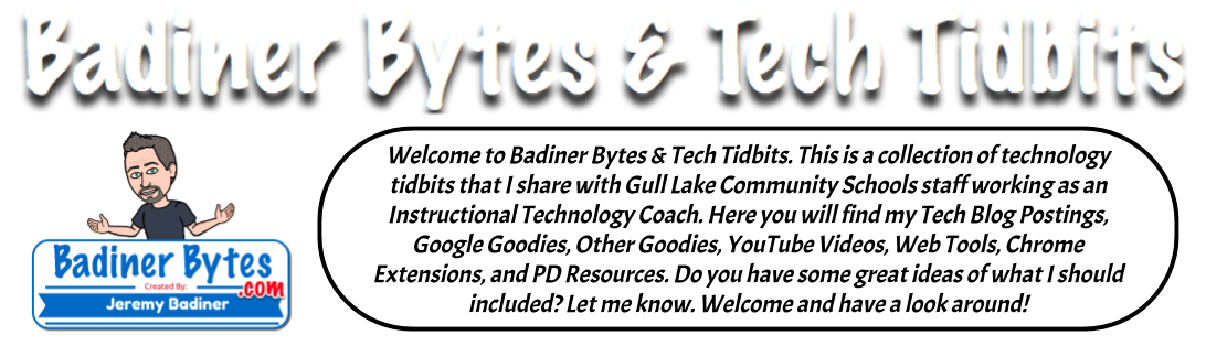 Badiner Bytes and Tech Tidbits