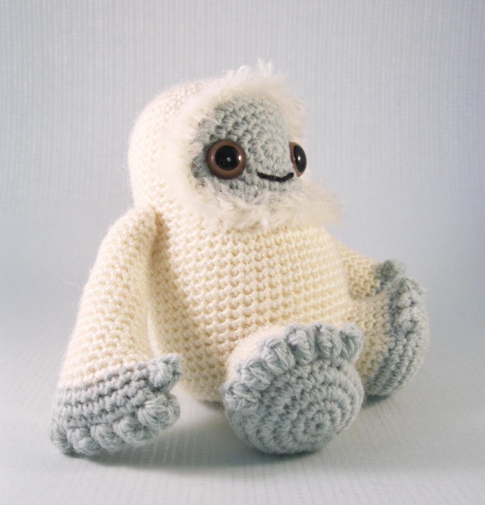 Lucyravenscar Crochet Creatures Yeti And Bigfoot Amigurumi Pattern