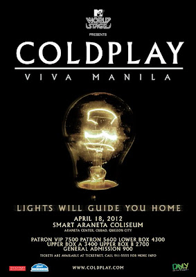Fake Coldplay in Manila Poster