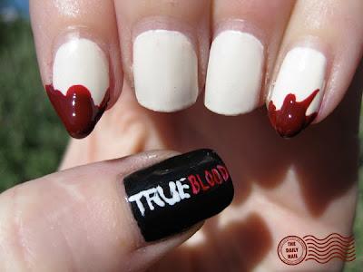 nails blood