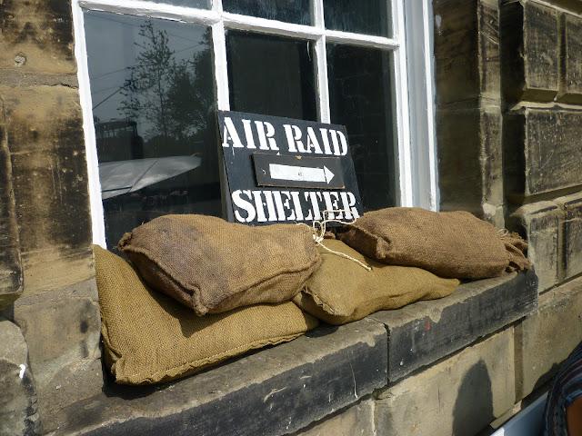 air raid shelter wwii crich
