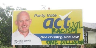 Party Vote Act(ual Racism): One Country, One Law (One Dillusion)