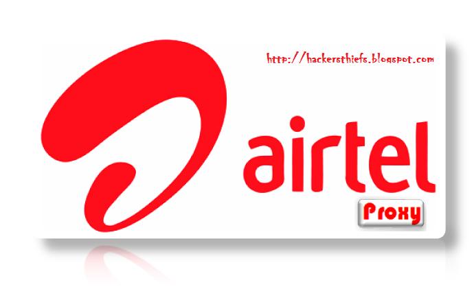 Airtel Free Proxy Tricks for January - February 2014
