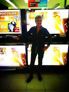 Sergio Dalma ayer en Musimundo
