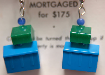 Monopoly earrings