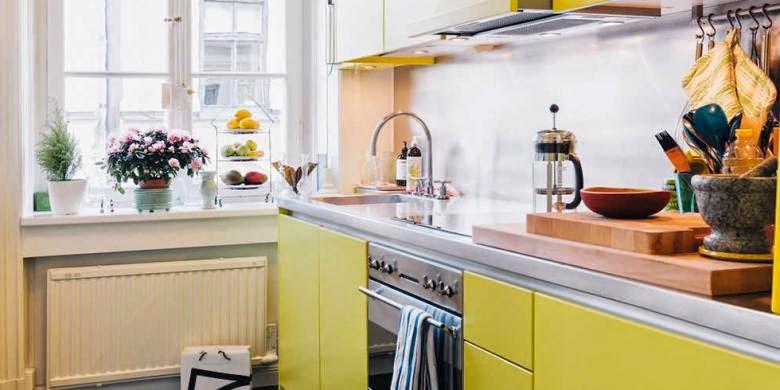 Menata Dapur yang Sempit