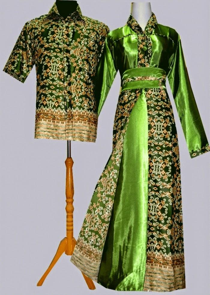 Foto Baju Batik Semi Gamis