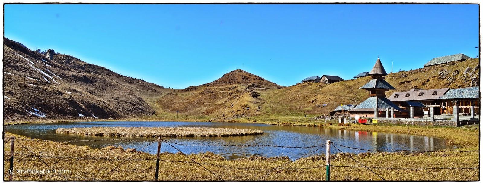 Prashar lake, Prashar Rishi, Floating island, Mandi, Himachal Pradesh
