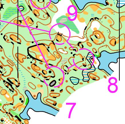 how to set up an orienteering course