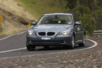 5 series is a capable handling car that loves a good twisty road