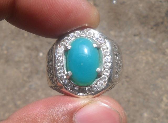 BC64- Batu Bacan Biru Tranlucent... Manise!!!_SOLD