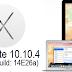 Download OS X Yosemite 10.10.4 Beta 4 (14E26a) Update DMG File - Direct Links