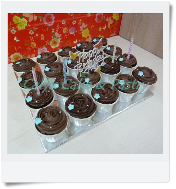 Simple Cupcake For George
