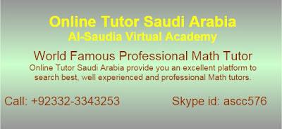 Math Tuition  Saudi Arabia