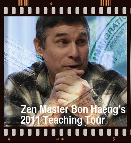 Zen Master Bon Haeng's European Teaching Tour 2011