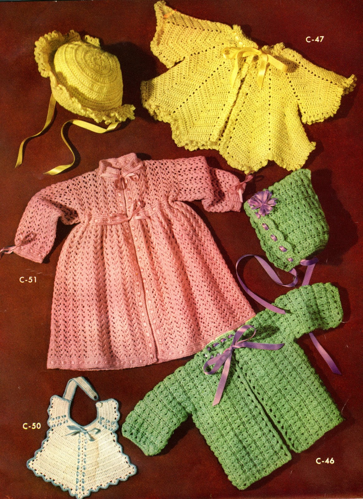Donnas Crochet Designs Blog of Free Patterns: Great Vintage Crochet ...
