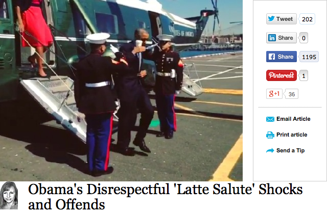 http://www.breitbart.com/InstaBlog/2014/09/23/Obama-s-Disrespectful-Latte-Salute-Shocks-and-Offends