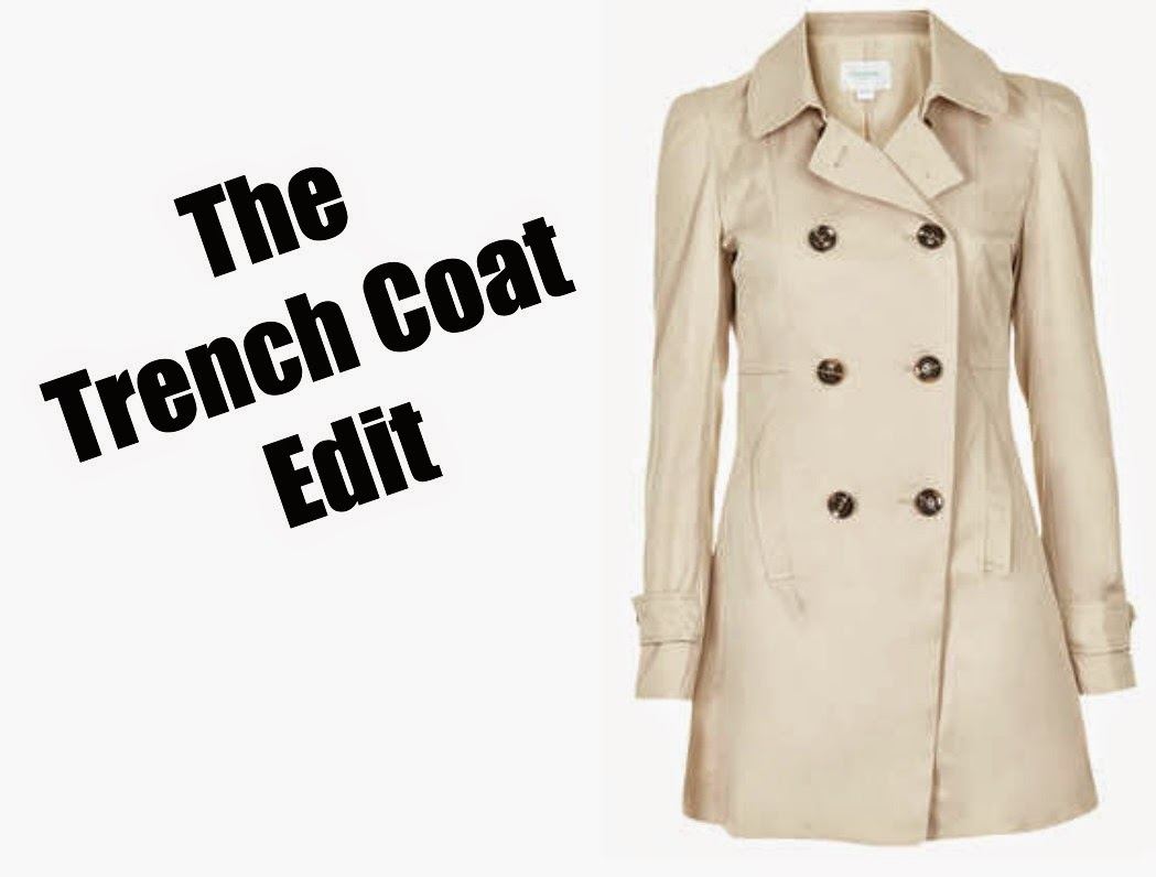 Trench Coat edit fashion blog