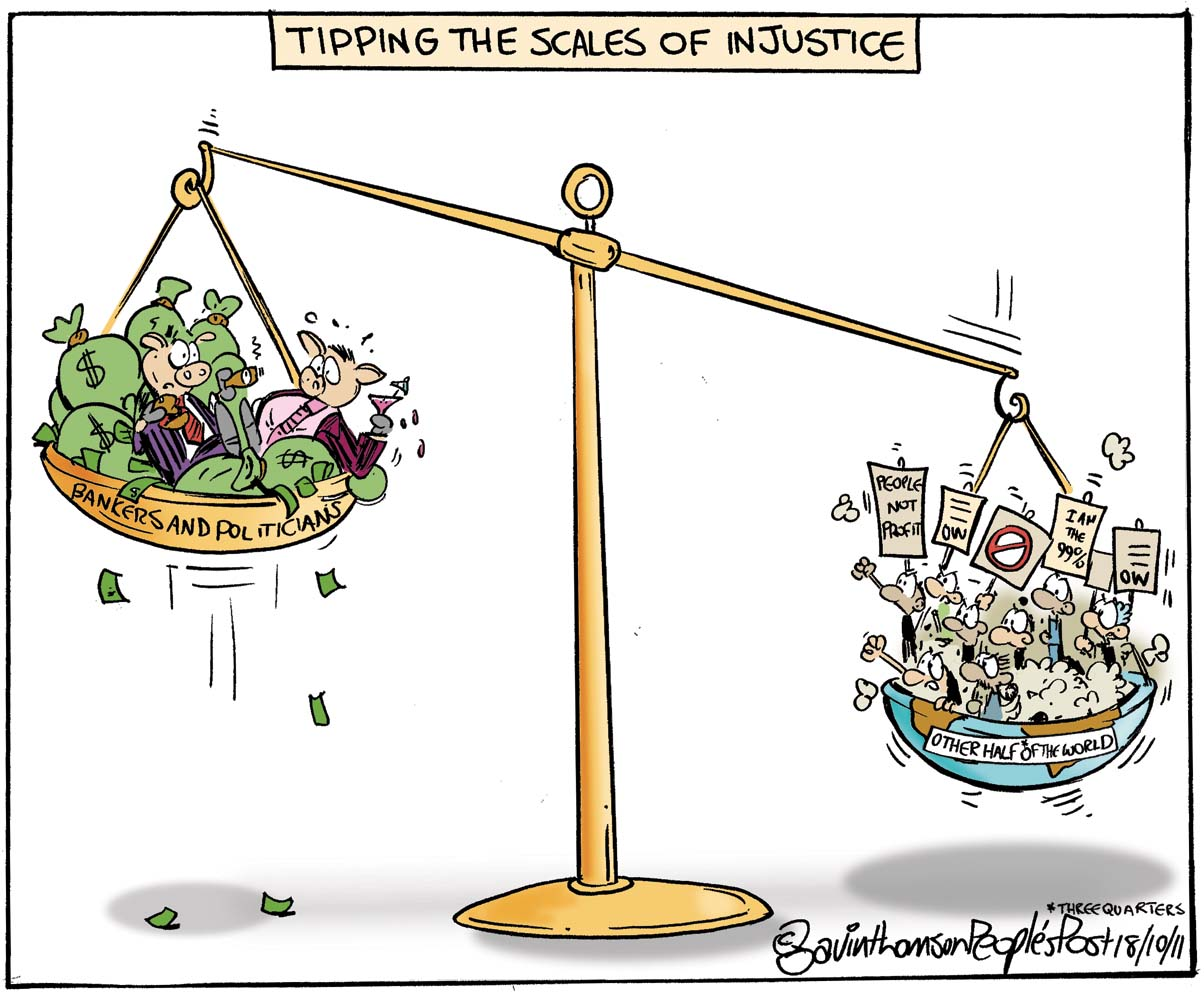 Injustice in the world today