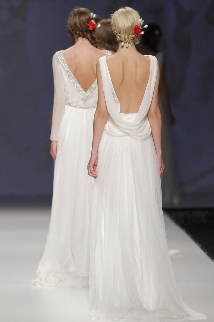 Victorio Lucchino Barcelona Bridal Week Spring 2015
