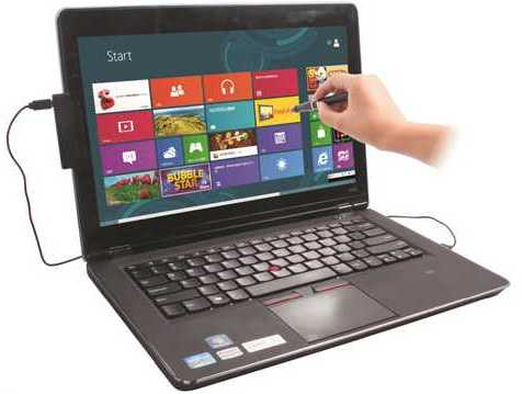 Turn you PC / non touch screen laptop into touch screen enabled with Window 8 OS