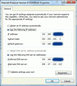 Cara Mengganti IP Address dan DNS di Windows 7