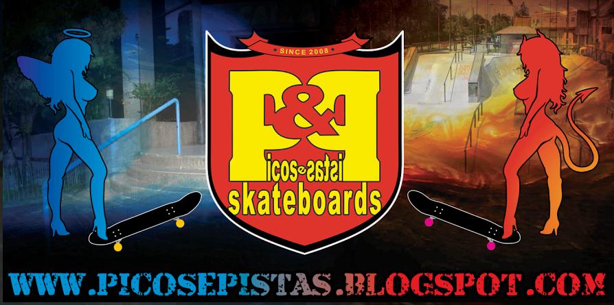 Picos e Pistas Skateboards PE