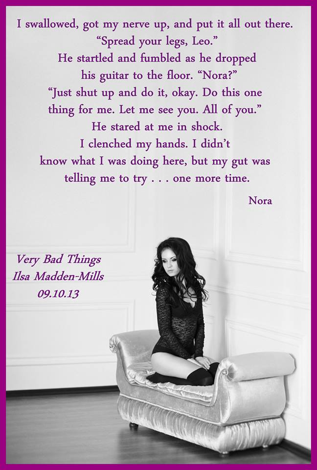 Hooked on books: Buzz Event ~ Very Bad Things ~ Ilsa Madden-Mills