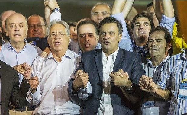 Militantes do PSDB teriam recebido R$ 25 para participar da convenção tucana