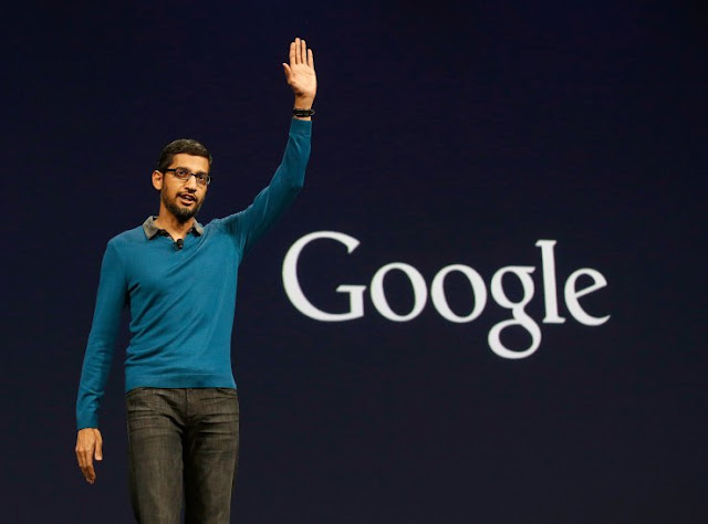 It's Now Officially Sundar Pichai's Show At Google