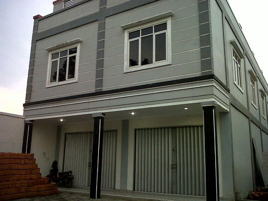 bentuk rumah ruko menarik