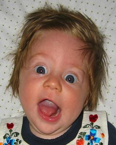 Photo bébé qui sera rigolo