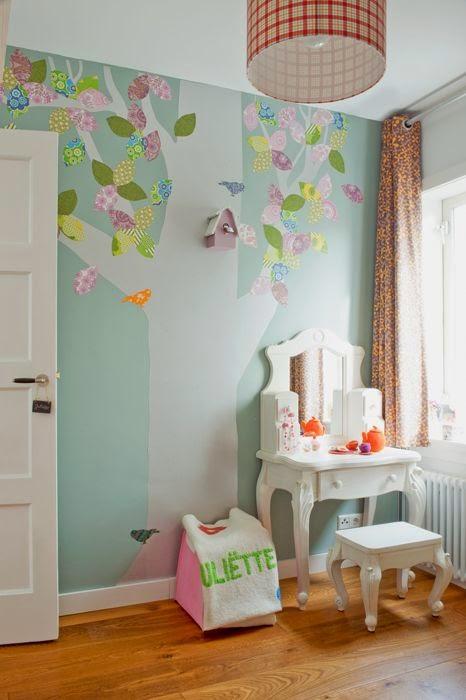 siluetas de árboles para habitaciones infantiles. Anabel art-home