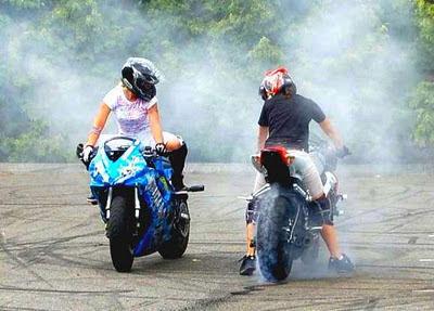 motorcycle rider women