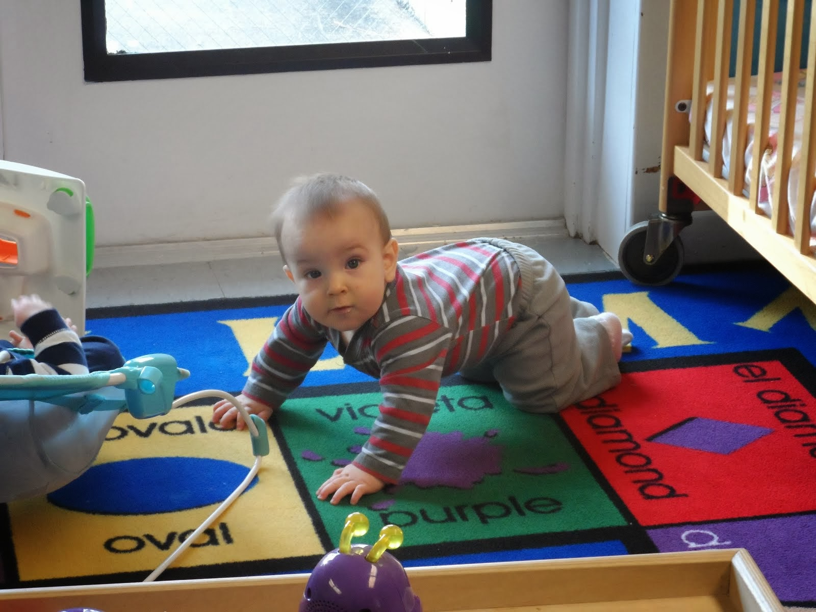 I am learning to crawl !
